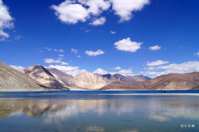 Pangong lake, ladhak