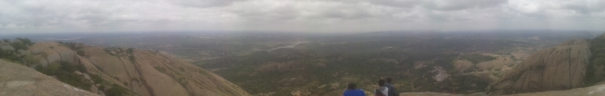 A view from savangurga hills