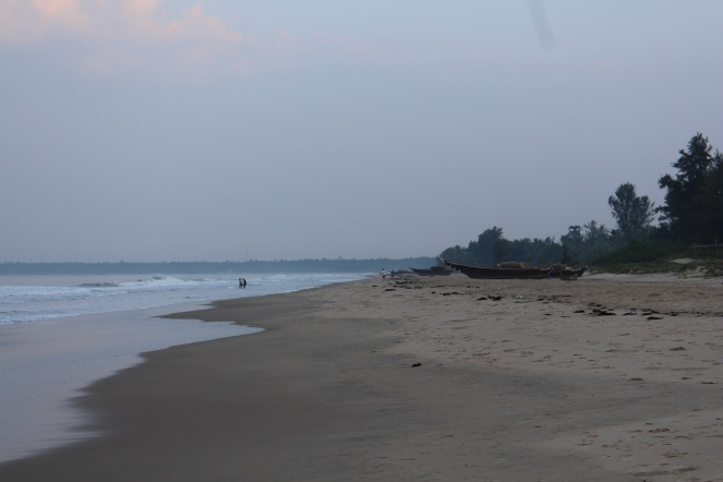 morning at Tarkarli beach