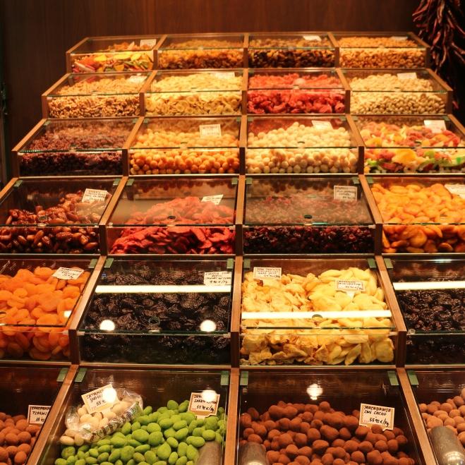 Spices at La Boquería
