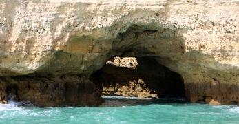 Beach caves in Albuferia