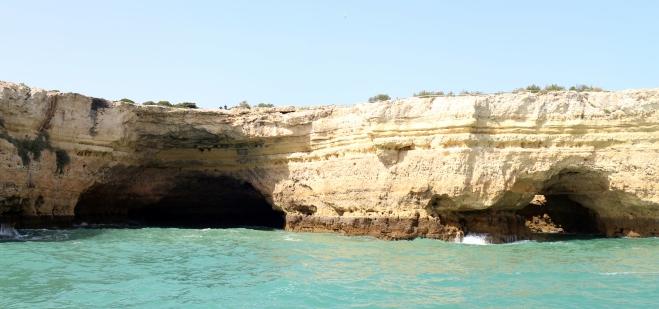 Cliffs near the beach