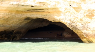 The famous Benagil beach