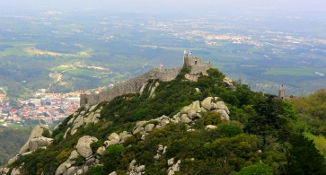 Castle of the Moor from Pena Palace