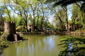 Valley of Lake near Pena Palace