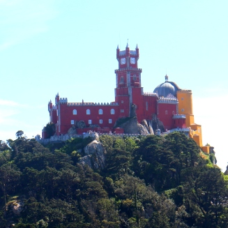 Pena Palace for Castle of the moors