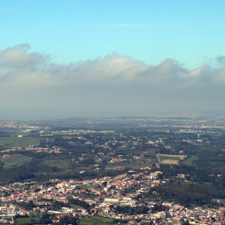 Countryside from Castle of the Moors