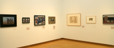 Paintings at Museum