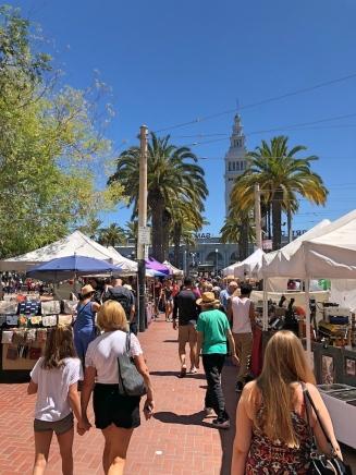 Street Market at Ferry market Building